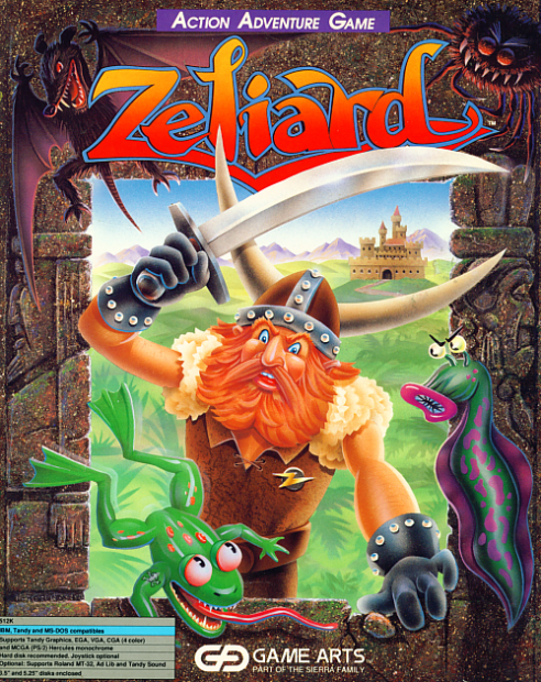Zeliard-box