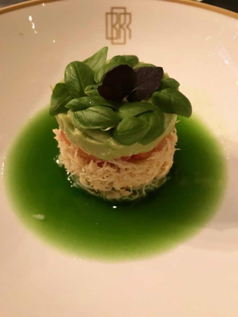 Crab Salad at Bob Bob Ricard
